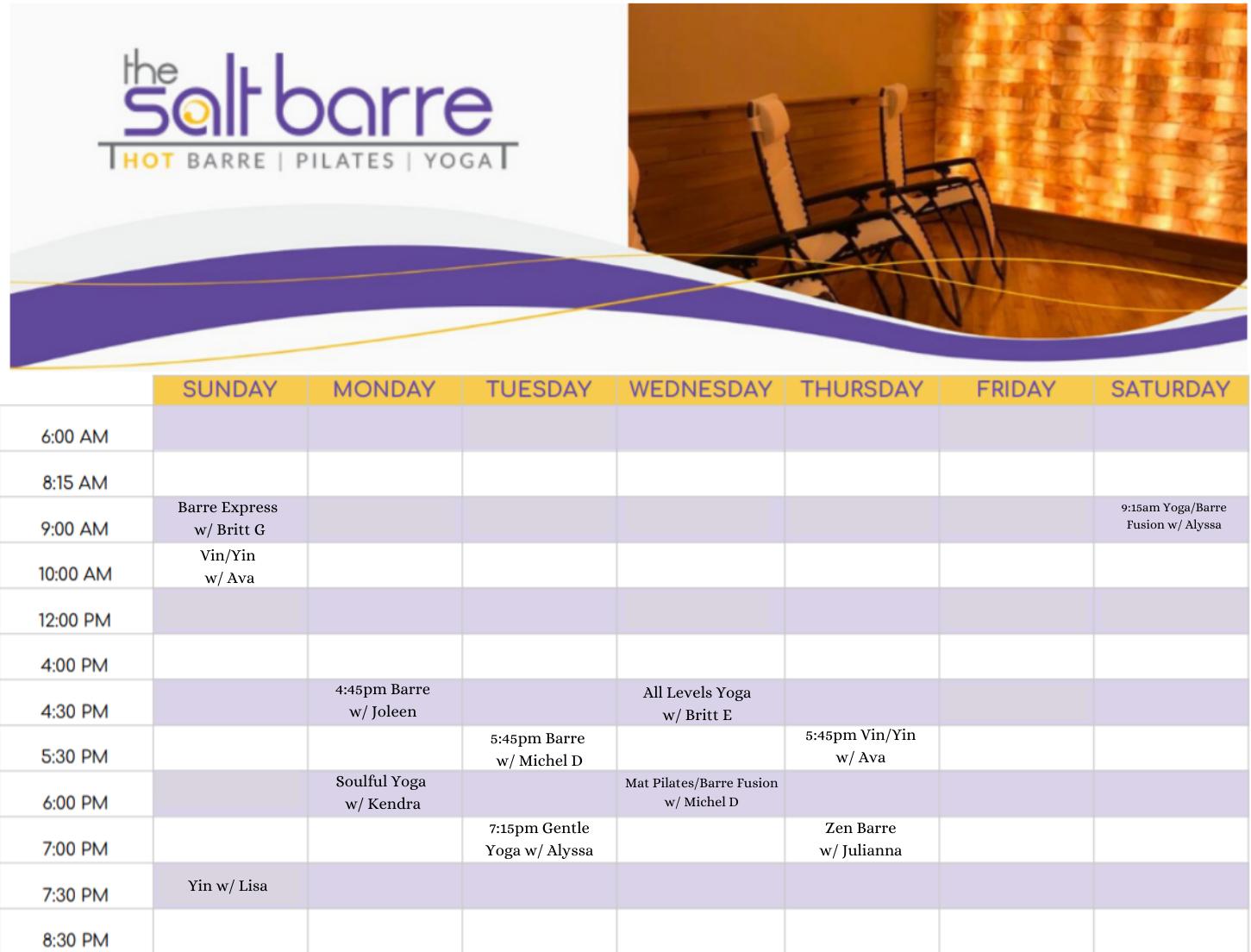 Online Schedule (1)
